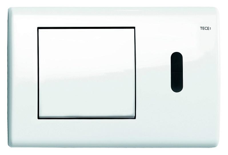 TECEplanus 6 V-Batterie. Панель смыва с инфракрасным датчиком. Белый глянцевый. 9240361
